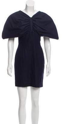 Jacquemus 2017 Wool Structured Mini Dress