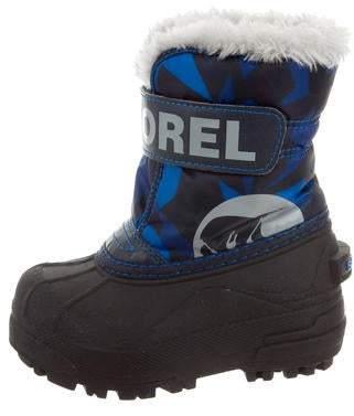 Sorel Boys' Rubber Snow Boots