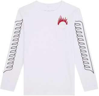Stella McCartney Flame Emblem T-Shirt
