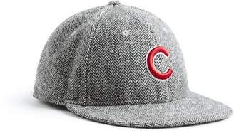 Todd Snyder + New Era Exclusive New Era Chicago Cubs Hat In Abraham Moon  Herringbone Lambswool 625caddd4633