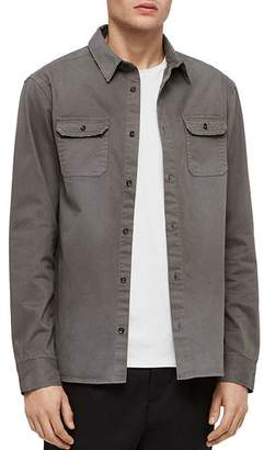 AllSaints Bryant Denim Slim Fit Button-Down Shirt