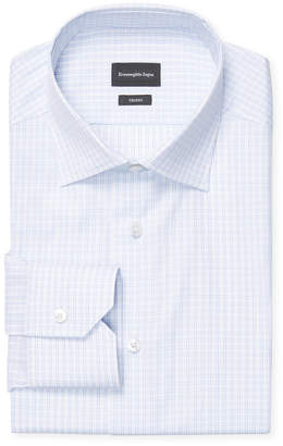 Ermenegildo Zegna Checkered Dress Shirt