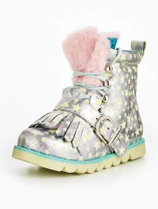Irregular Choice Girls Baby Step Mama Boot
