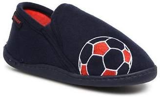 Isotoner Kids's Mocassin Slippers in Blue