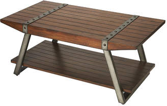 Butler Lamont Iron & Wood Coffee Table
