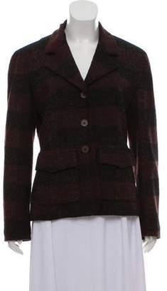 Balmain Striped Wool Blazer
