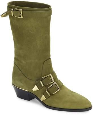 Chloé Women's Susanna Buckled Leather Boots