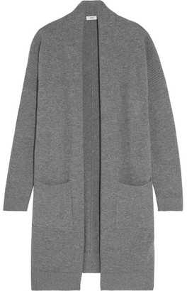 Vince - Wool And Cashmere-blend Cardigan - Gray $385 thestylecure.com