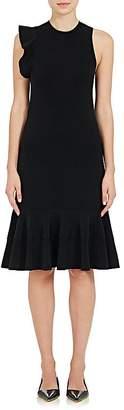 Proenza Schouler WOMEN'S COMPACT KNIT RUFFLE A-LINE DRESS