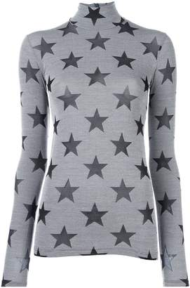 Gareth Pugh star roll neck top