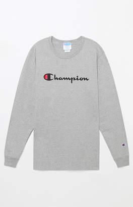 Champion Heritage Script Long Sleeve T-Shirt