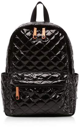 MZ Wallace Oxford Metro Lacquer Small Backpack