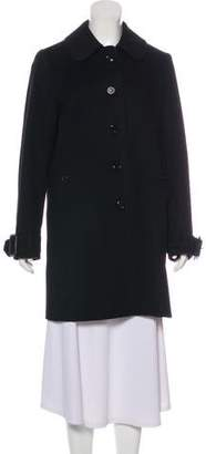 Burberry Wool Collared Coat