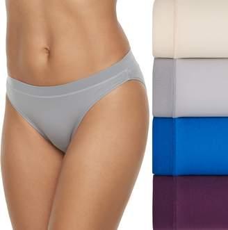 Fruit of the Loom Women's 4-pack Signature Everlight Bikini Panties 4DELSBK