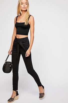 Scotch & Soda Front Tie Skinny Jeans