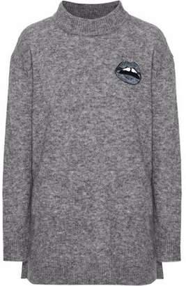 Markus Lupfer Embellished Alpaca-Blend Sweater