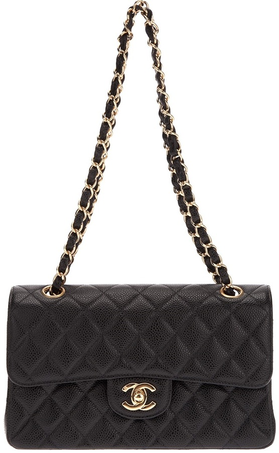 Chanel quilted pouchette