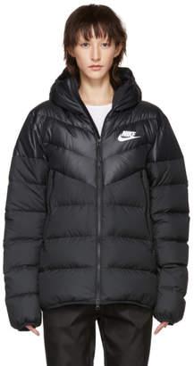 Nike (ナイキ) - Nike ブラック ダウン ウィンドランナー ジャケット