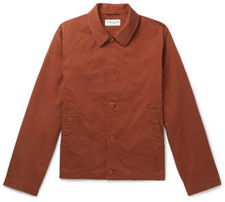 YMC Cotton-Blend Twill Jacket - Men - Brick