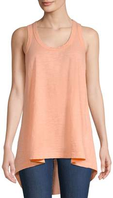 Wilt High-Low Cotton Tank Top