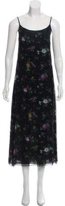 R 13 Printed Slip Dress