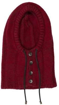 Dolce & Gabbana Wool-Blend Knit Hood
