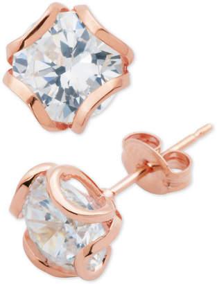 Giani Bernini Cubic Zirconia Petal Stud Earrings