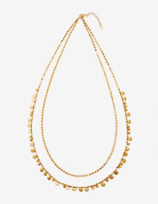 Boden Dainty Disc Longline Necklace