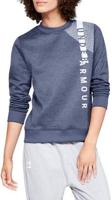 Under Armour Womens Armour Fleece Crew Sweater
