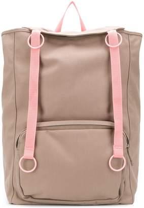 Raf Simons x Eastpack two tone backpack