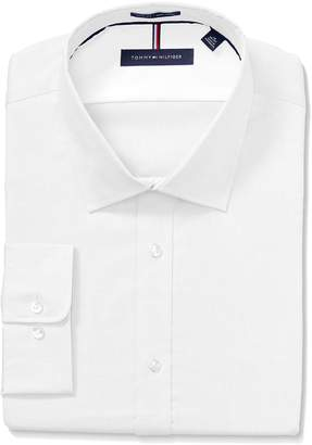 Tommy Hilfiger Men's Slim Fit Non Iron Solid