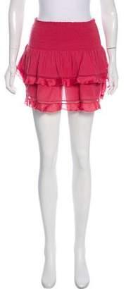 Etoile Isabel Marant Ruffle-Accented Mini Skirt