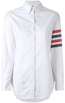 Thom Browne color block shirt $598.02 thestylecure.com