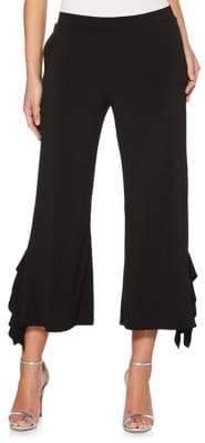 Rafaella Ruffle Cropped Pants