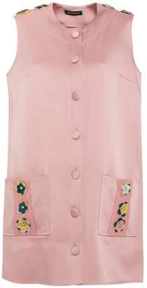 Manley - Tabby Coat Dress Pink