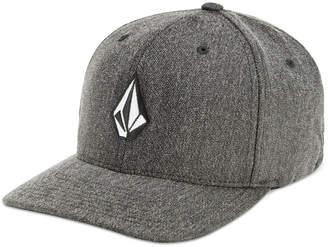 Volcom Men's Flex-Fit Heathered Logo Hat