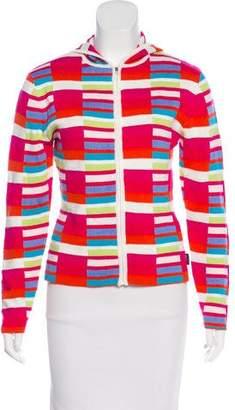 Obermeyer Wool-Blend Zip-Up Jacket