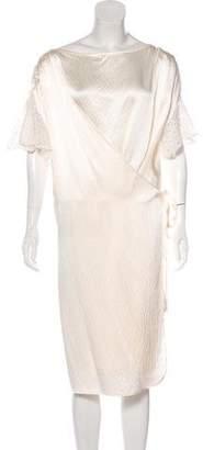 Rachel Comey Silk Wrap Dress