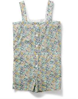 Bonton Girl Printed Playsuit(3-6 Years)