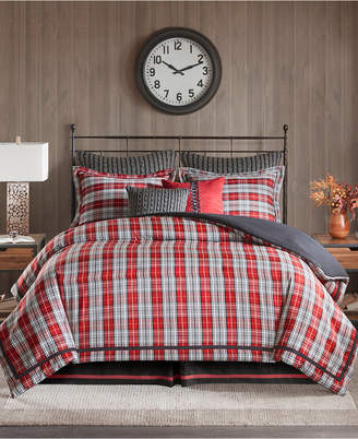 Woolrich Williamsport Plaid 4-Pc. King Comforter Set Bedding