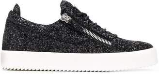 Giuseppe Zanotti Design Frankie glitter sneakers