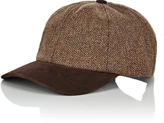 Crown Cap MEN'S WOOL & SUEDE BASEBALL CAP