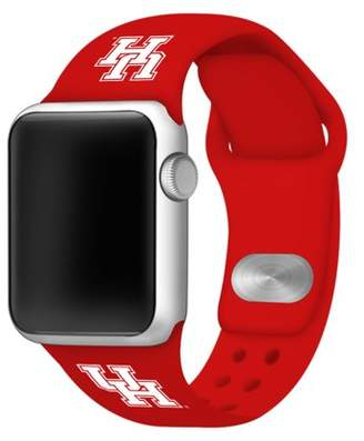 Affinity Bands Houston Cougars 38mm Silicone Sport Band fits Apple Watch - BAND ONLY