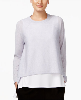 Eileen Fisher Cropped Sweater $188 thestylecure.com
