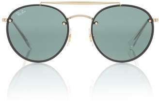 Ray-Ban Blaze Double Bridge sunglasses