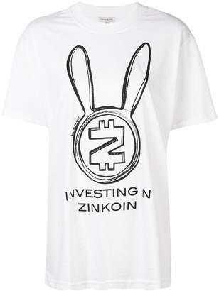 Natasha Zinko oversized Zincoin T-shirt