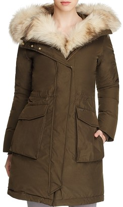 WOOLRICH JOHN RICH & BROS Military Fur-Trimmed Parka $1,150 thestylecure.com