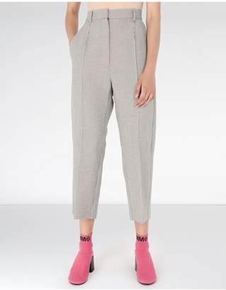 Maison Margiela Cropped Suiting Trousers