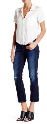 7 For All Mankind The Cropped Bootcut Jean $199 thestylecure.com