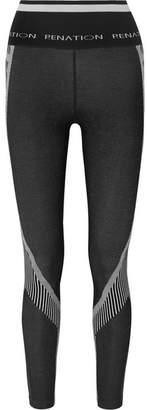 P.E Nation + Woolmark High Strike Printed Stretch Wool-blend Leggings